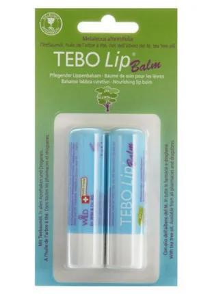 TEBOLip Balm Бальзам для губ с маслом чайного дерева (Melaleuca A
