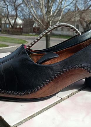 Роскошные кожаные туфли gabor comfort 39-40