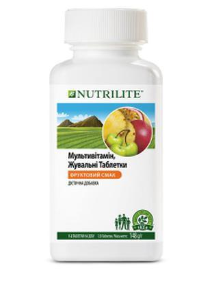 Мультивітамін, жувальні таблетки, NUTRILITE      120 таблеток