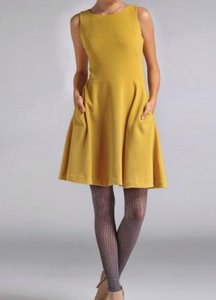 Желтое платье Top Secret