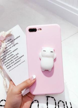 Чехол на айфон 6с, с котом антистресс
