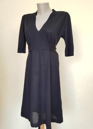 Брендовое платье туника шерсть мериноса
