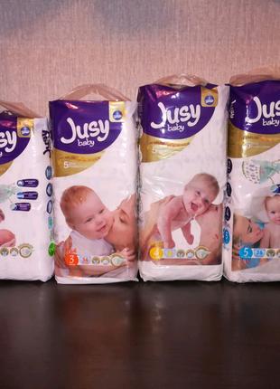 Подгузники премиум-класса турецкие Jusy Baby качество