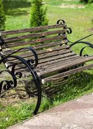Реставрация беседок, лавочек и садовой мебели любой сложности.