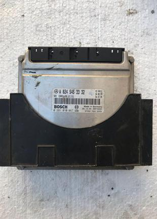 Блок управления двигателя Mercedes w220 (a 024 545 33 32)