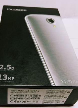 Doogee Valencia2 Y100 Pro 4G/3G 2SIM 2/16. Состояние нового те...