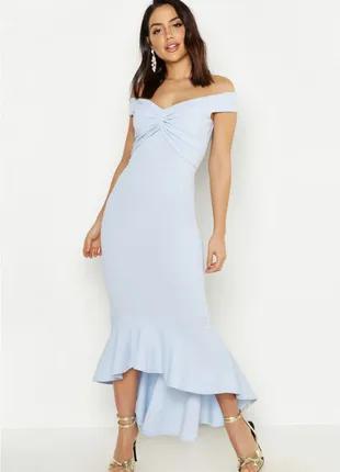 Платье- миди  boohoo