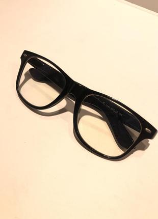 Имиджевые прозрачные очки h&m !