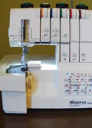 Продам новый Коверлок Minerva M5000CL