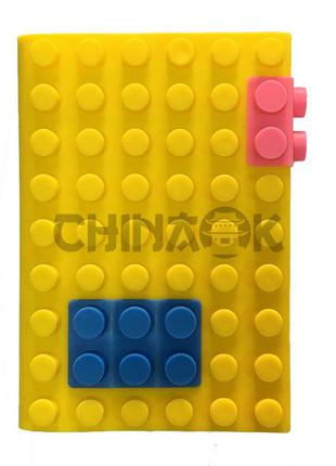 Блокнот LEGO Blocks Notebook Желтый