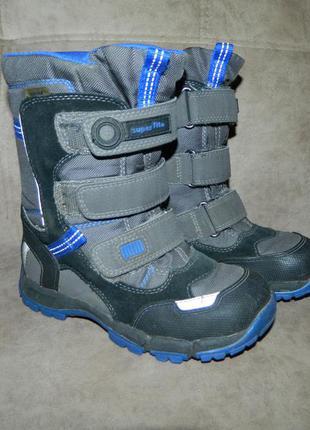 Сапоги ботинки зимние детские на мальчика superfit размер 30