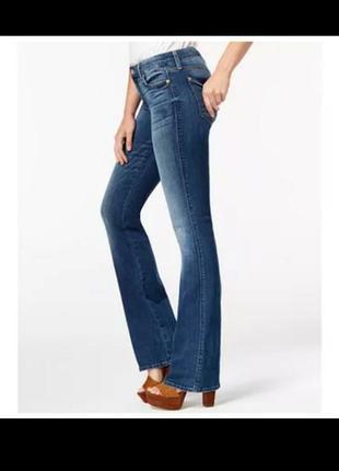 Модные джинсы клеш штаны брюки