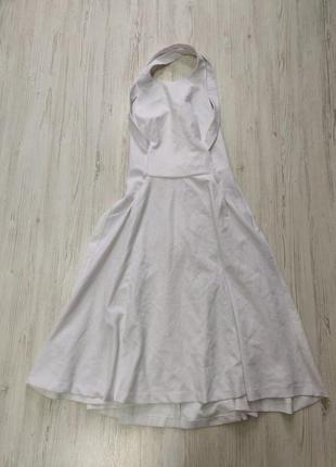 Распродажа до 31 марта!!!🔥 белое платье миди с открытой спиной...