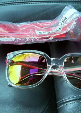Новые солнцезащитные очки marc by marc jacobs прозрачные с роз...