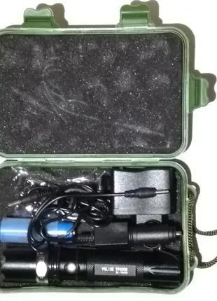 Фонарь светодиодный + велокрепление BL T8628