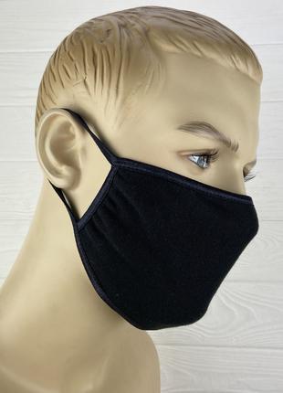 Хлопковая двухслойная маска