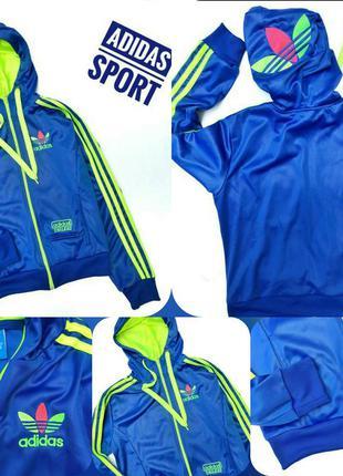 Олимпийка мастерка худи adidas chile 62