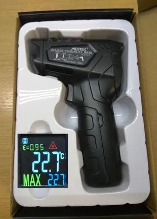 Профессиональный пирометр MESTEK IR01А, 12 точек лазера