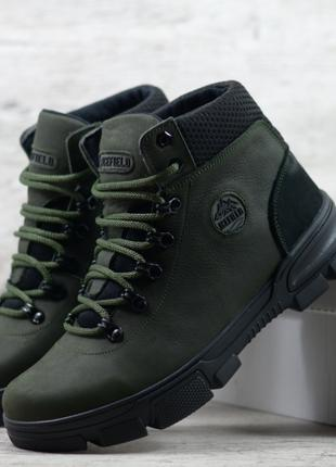 Кожаные зимние ботинки Icefield