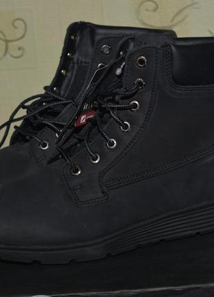 Женские кожаные ботинки сапоги демисезонные