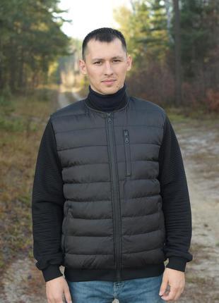 Мужской бомбер куртка мужская