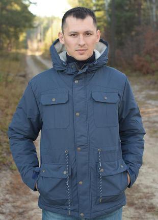Мужская зимняя парка куртка lee cooper