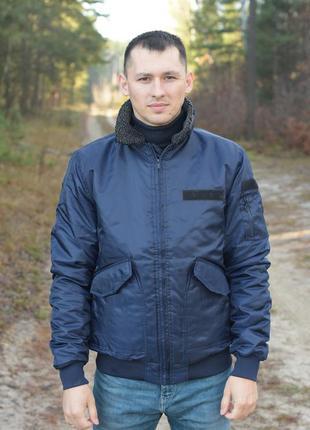 Мужской бомбер куртка fabric
