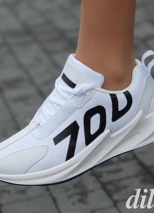 Кроссовки женские белые летние весенние модные популярные - жі...