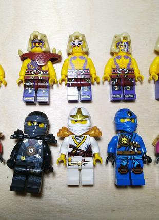 10 нініфігурок лего ніндзяго