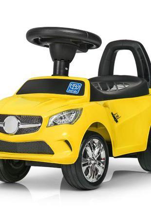 Каталка-толокар Mercedes  M 3147 C(MP3)-6 желтая