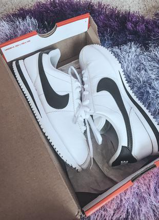 Nike Cortez classic leather white/black