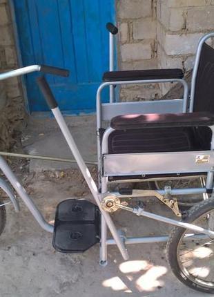 Инвалидный велосипед КД .   Коляска инвалидная