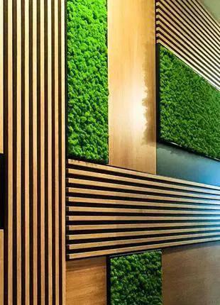 Декоративные ламели декор на стену и потолок.