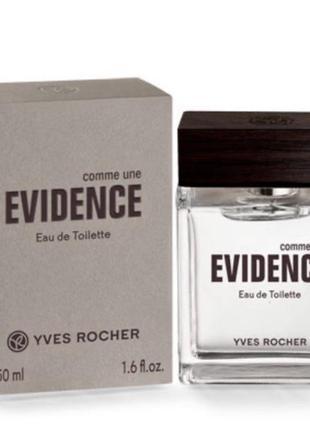 Духи мужские парфюм туалетная вода явность эвиденс comme une é...
