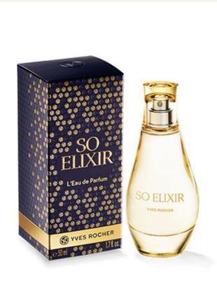 Духи парфюм парфюмированная вода so elixir соу эликсир ив роше...