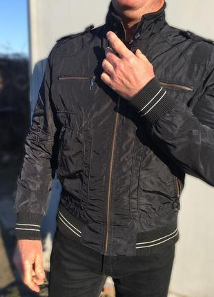 Куртка мужская чёрная весенняя