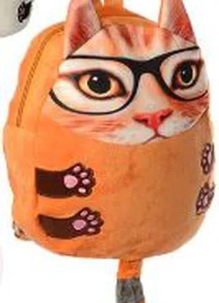 Мягкий рюкзак. Кот с ушками.