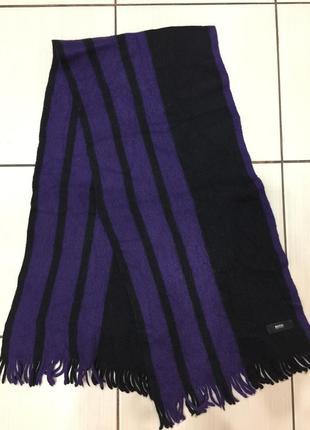Hugo boss шарф мужск