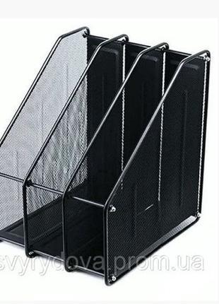 Лоток для документов вертикальный/горизонтальный, металлический