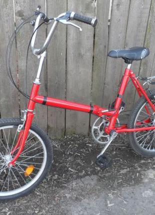 """Детский велосипед складной 5 скоростей колёса на 20"""" дюймов."""