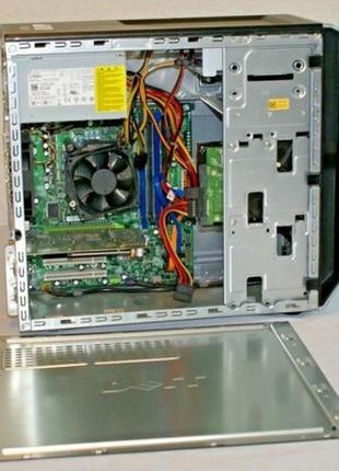 ОПТ / 4 ядра/ DELL T1500 i5-760 4 озу. 500 HDD Системный блок