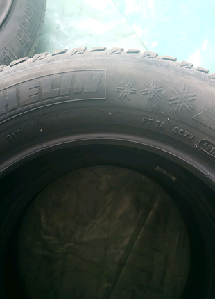 Резина зимова Michelin Alpin 5, 195/65/15