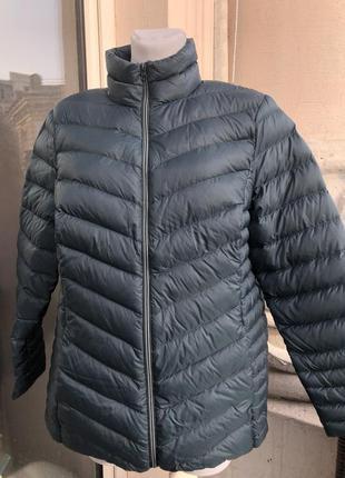 Легкий весенний пуховик куртка