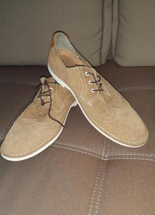 Туфли оксфорды броги р.47