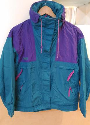 Columbia фирменная куртка двухсторонняя 2 в 1