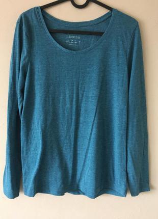 Базовая футболка морского цвета