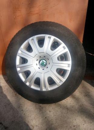Колеса шины + диски на SKODA OKTAVIA R15 5*112 195*65*r15
