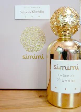 Simimi Grace de Klavdia_Оригинал Extrait de Parfum 5 мл _затест