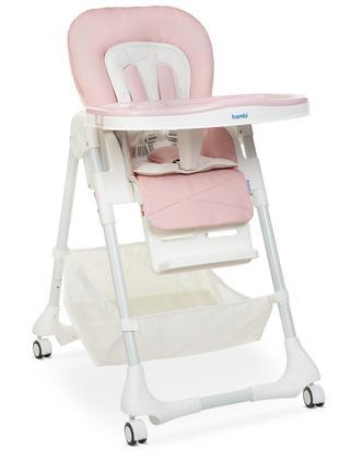 Детский стульчик для кормления  M 3822 Baby Pink