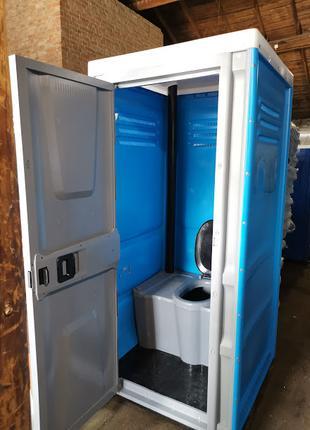 Биотуалет уличный Люкс, мобильный передвижной туалет, кабна дачна
